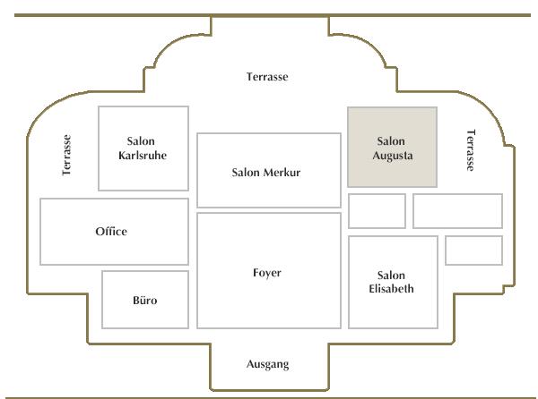 Obergeschoss / Salon Augusta
