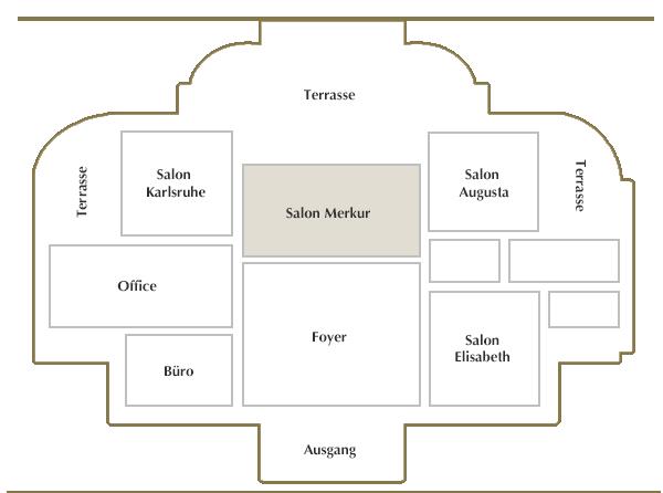 Erdgeschoss / Salon Baden-Baden