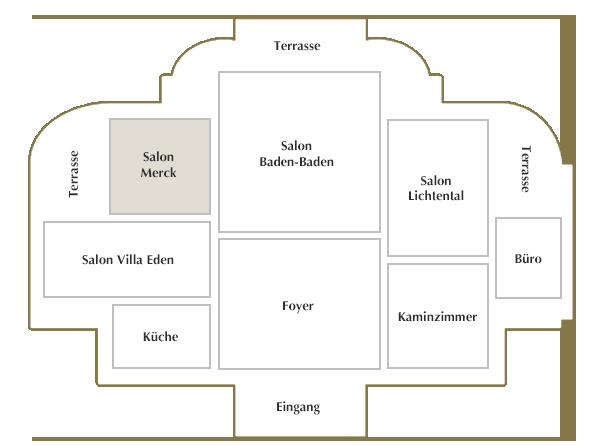 Erdgeschoss / Salon Merck