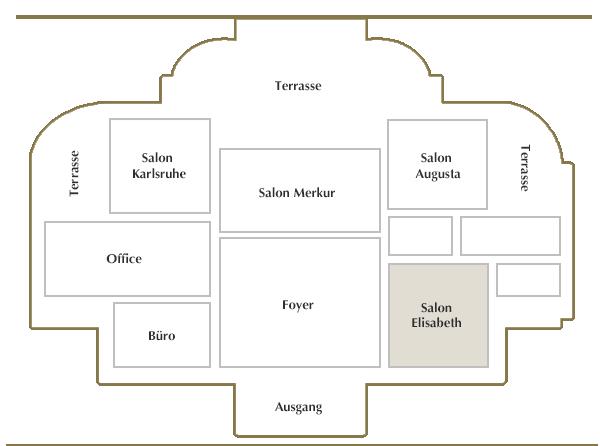 Obergeschoss / Salon Elisabeth