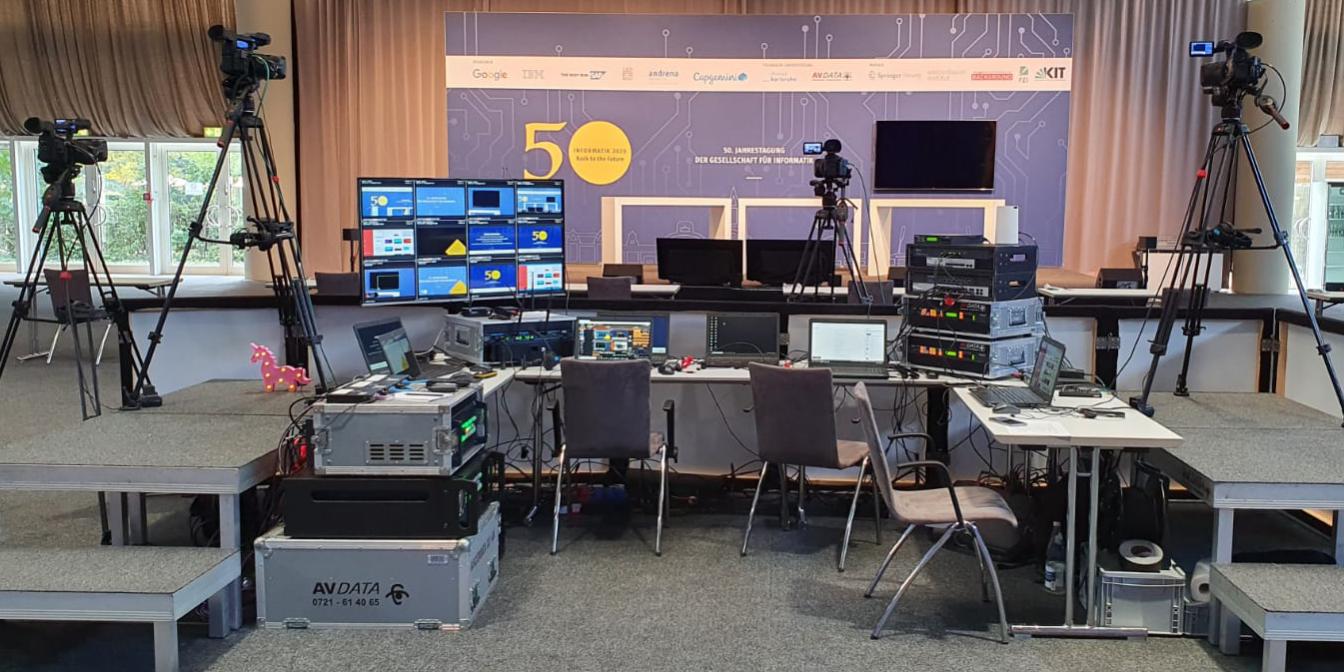 Hybride Events im Palais Biron in Baden Baden mit modernster-Konferenztechnik