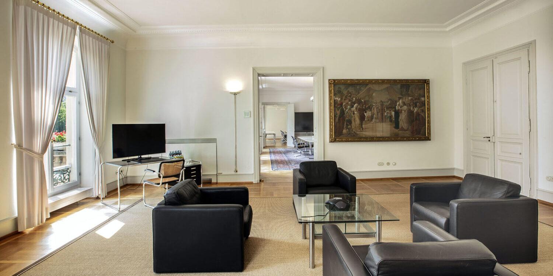 Salon Karlsruhe mit Lounge-Ambiente