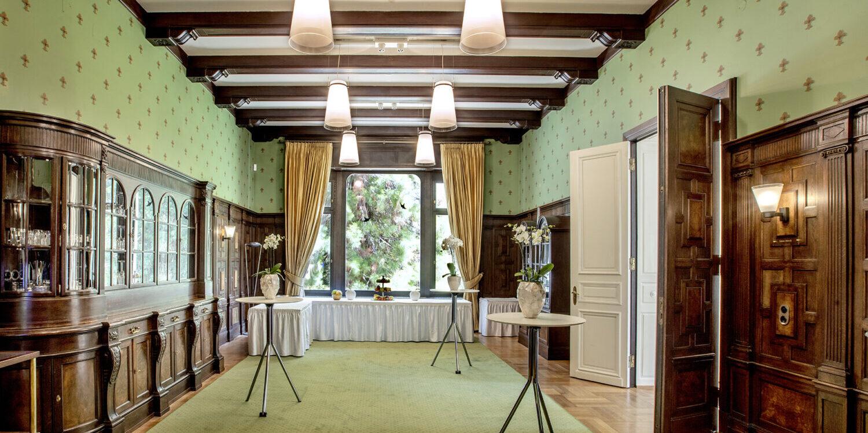 Ambiente des Salon Villa Edens bei Workshops und Seminaren